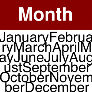 Month Calendar application icon